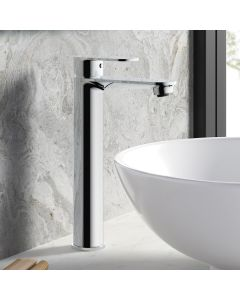 Anker Chrome High Rise Basin Mixer Tap