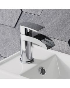 Eden Chrome Cloakroom Waterfall Basin Mixer Tap