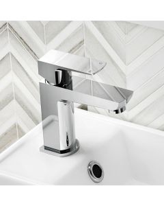Soar Chrome Cloakroom Basin Mixer Tap