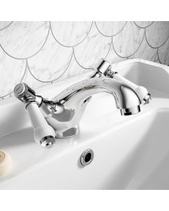 Cherwell Traditional Chrome Basin Mixer Tap