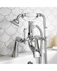 Cherwell Traditional Chrome Bath Shower Mixer Tap