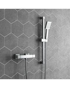 Carrick Square Thermostatic Shower Set