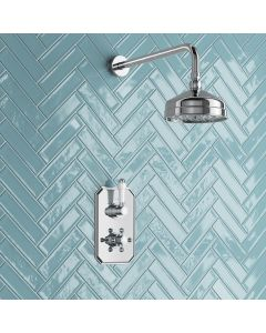 Kinsale Essential Traditional Thermostatic Shower Set