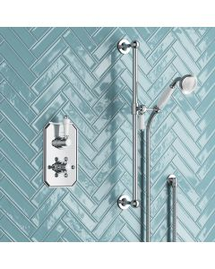 Kinsale Essential Traditional Thermostatic Slider Hand Shower Set
