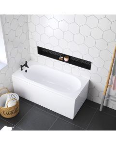 Stafford 1500x700mm Round Single Ended Bath
