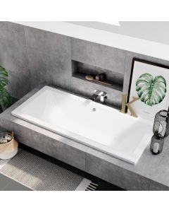 Durham 1800x800mm Square Double Ended Bath