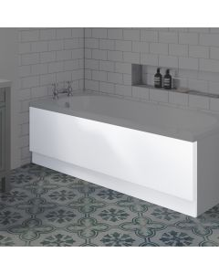 1700mm Acrylic straight bath front panel
