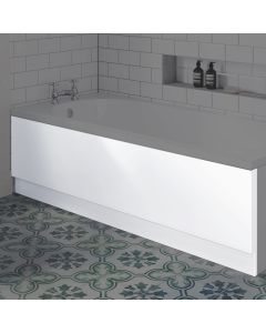 1800mm Acrylic straight bath front panel