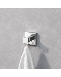 Isla chrome Square Robe Hook