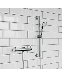 Round Thermostatic Bar Shower Set