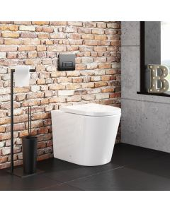 Boston Rimless Back To Wall Toilet With Premium Soft Close Seat