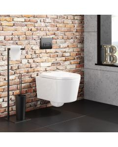 Boston Rimless Wall Hung Toilet With Premium Soft Close Seat