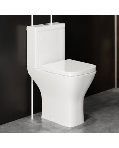 Atlanta Comfort Close Coupled Toilet With Soft Close Seat