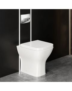 Atlanta Back To Wall Toilet With Soft Close Seat
