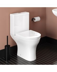Orlando Close Coupled Toilet With Soft Close Seat