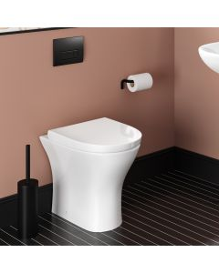 Orlando Back To Wall Toilet With Soft Close Seat