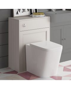 Traditional Chalk White Back To Wall Unit And Nevada Toilet