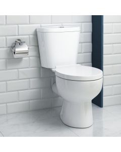 Crosby Close Coupled Toilet With Soft Close Seat