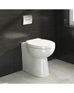 Crosby Back To Wall Toilet With Soft Close Seat