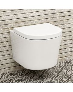 Lyon II Wall Hung Toilet  With Premium Soft Close Seat