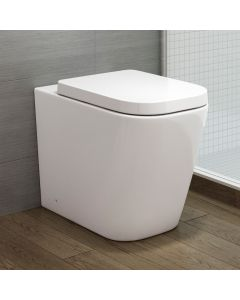 Verona Back To Wall Toilet With Premium Soft Close Seat