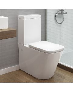 Florence Close Coupled Toilet With Premium Soft Close Seat