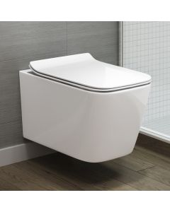 Florence Wall Hung Toilet  With Premium Soft Close Seat