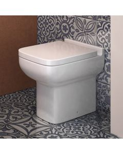 Option 600 Back To Wall Toilet With Soft Close Seat