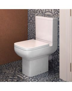 Option 600 Close Couple Toilet With Soft Close Seat