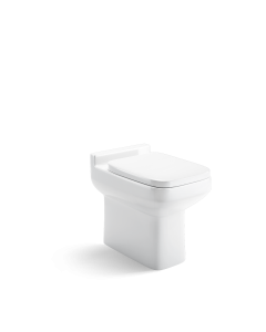 Trim Back To Wall Toilet With Soft Close Seat