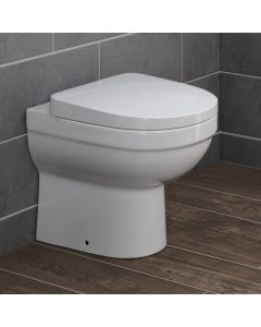 Sabrosa Back To Wall Toilet With Soft Close Seat