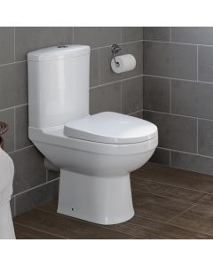 Sabrosa Close Coupled Toilet With Soft Close Seat