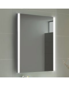 Lunar Battery Operated Illuminated LED Mirror 500X700mm