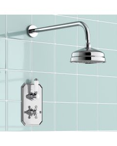 Essential Traditional Thermostatic Shower Set