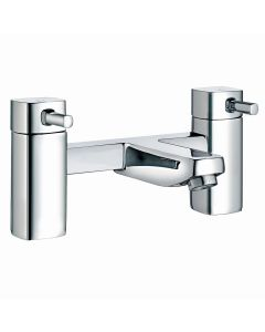 Squared Chrome Bath Filler