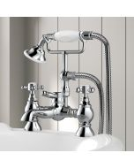 Thames Traditional Chrome Bath Shower Mixer Tap
