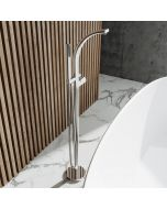 Sherbourne Chrome Freestanding Bath Shower Mixer Tap